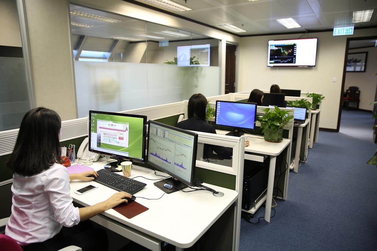 Image D Un Bureau De Travail quand mon bureau améliore ma productivité au travail - blog
