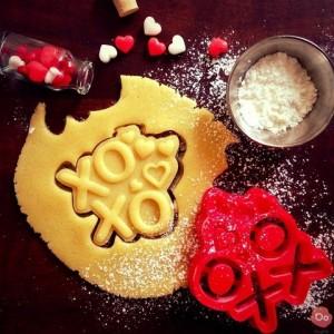 Emporte-piece cookies saint valentin